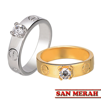 bd2edea2023d De Lujo Carter grande de boda anillos de piedra para las mujeres blanco 0