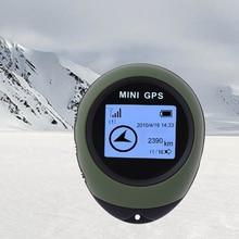Protable Llavero Localizador Pathfinding Herramienta Al Aire Libre Mini Perseguidor de Los GPS Localizador de Mano de Viaje Dispositivo de Seguimiento del coche de estilo