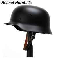 Helmet Hornbills WW2 German M35 Steel Helmet /Safety Helmet/ World War 2 Helmet