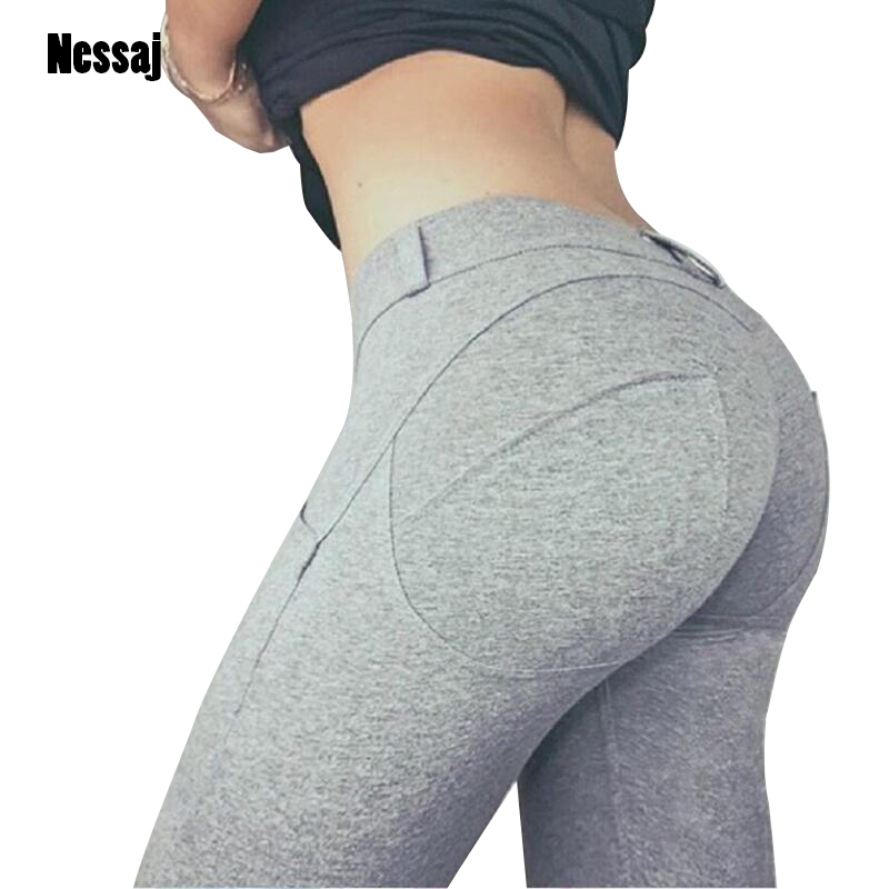 Low Waist Pants Women Sexy Hip Push Up Pants Legging