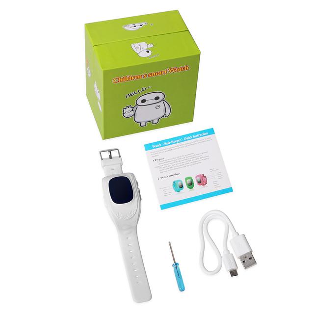 Q50 Kids OLED GPS Smart Watch SOS WIFI GPS Tracker Children Listening Locator