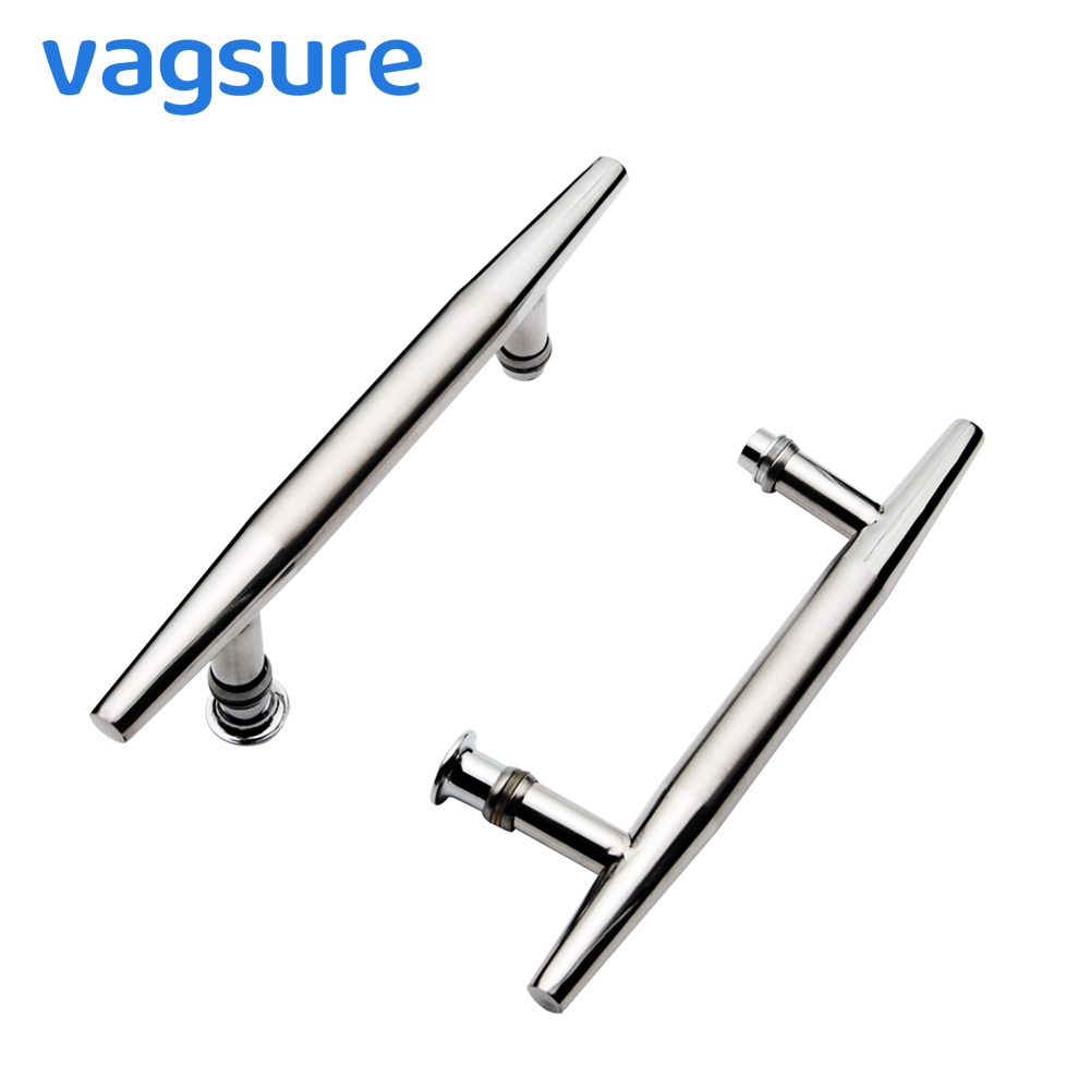 2pcs/lot Hole Distance 14.5cm Stainless Steel Shower Screen Glass Door Knob Handle For Bath Room Cabinet Sauna Room Accessories жирафики
