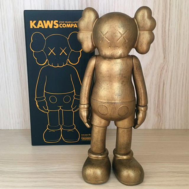 Medicom Toy KAWS Brian VOGUE OriginalFake BFF Street Art PVC Action Figure Collectible Model Toy S156 2