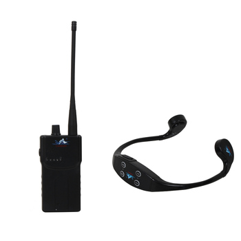 Wireless Transmitting Teaching Gadget with 1 Walkie Talkie+15 Bone Conduction Swimming Waterproof Mp3 Player Headphone Receiver