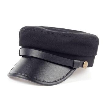 Sombrero Vinatage de mujer Venta caliente boina de algodón boina Newsboy  sombreros gorras casuales boinas de moda sombreros de invierno señora 42bd1695367