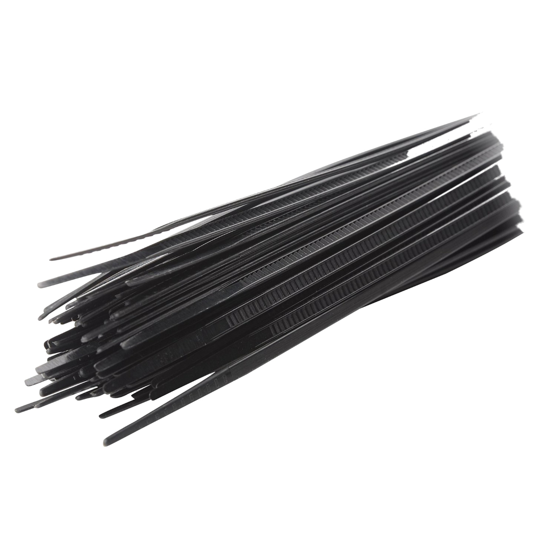 ᗕJFBL 100pcs Zip Wrap TIES Cable Ties Wire Straps PLASTIC Hook Self ...
