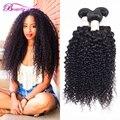 Сырье Индийского Странный Вьющиеся Волосы Расслоения Beautygrace Индийский Вьющиеся Девы Волос 1 Bundle Cheveux Humain Волос Tissage Bresilienne