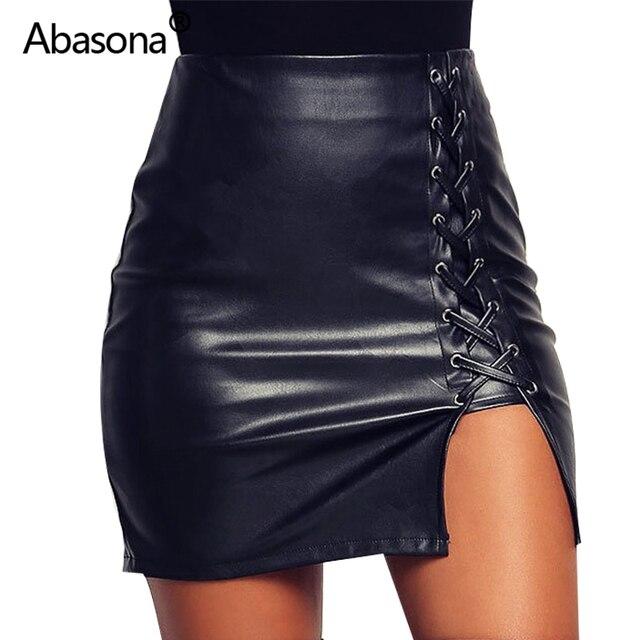 d466ed24d € 8.75 40% de DESCUENTO|Nueva Falda de tubo para mujer negro ceñido al  cuerpo faldas de vendaje con cremallera de encaje con abertura lateral para  ...