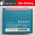 Smartphone replacement Battery for STAR G8000 G8800 4000mAh Mobile Phone li-battery New