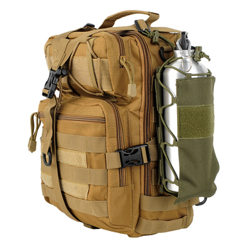 Tactical Water Bottle Pouch Outdoor Molle Military Water Bag Kettle Holder Accessory Bags Camping Hiking Travel Survival Kits 6