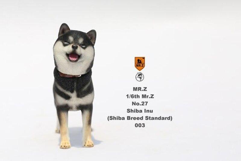 Mr.Z MRZ027 1//6 The Simulation Animal Dog NO.27 Japanese Shiba Inu 003