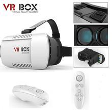 Google cardboard headmount VR коробка версия виртуальной реальности 3D Очки для 3.5 «-6.0» смартфон + Bluetooth Пульт дистанционного управления