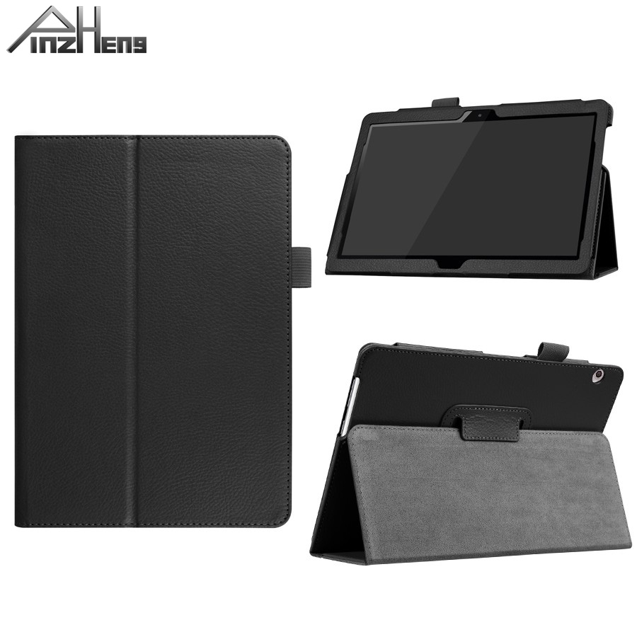 PINZHENG Ultra Thin PU leather Tablet Case For Huawei Mediapad T3 10 9.6 AGS-L09 AGS-W09 9.6 inch Auto Sleep Weak Up Case Stand for huawei mediapad t3 7 0 wifi case soft silicone case cover for huawei mediapad t3 7 0 bg2 w09 7 inch tablet pc gifts