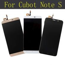 Cubot Nota S de visualización Original del LCD y la Asamblea de Pantalla Táctil para cubot Cubot Nota S 1280X720 reemplazo nota S LCD