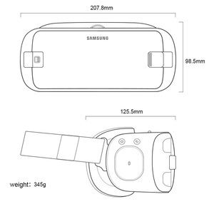 Image 5 - Samsung Origin Gear VR 5.0 3D VR Glasses  Built in Gyro Sens for Samsung Galaxy S9 S9Plus S8 S8+ Note5 Note 7 S6 S7 S7Edge