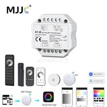 Светодиодный диммер Triac 220V 230V 110V 2,4G беспроводной RF дистанционный Диммируемый кнопочный переключатель умный Wifi диммер для светодиодной лампы
