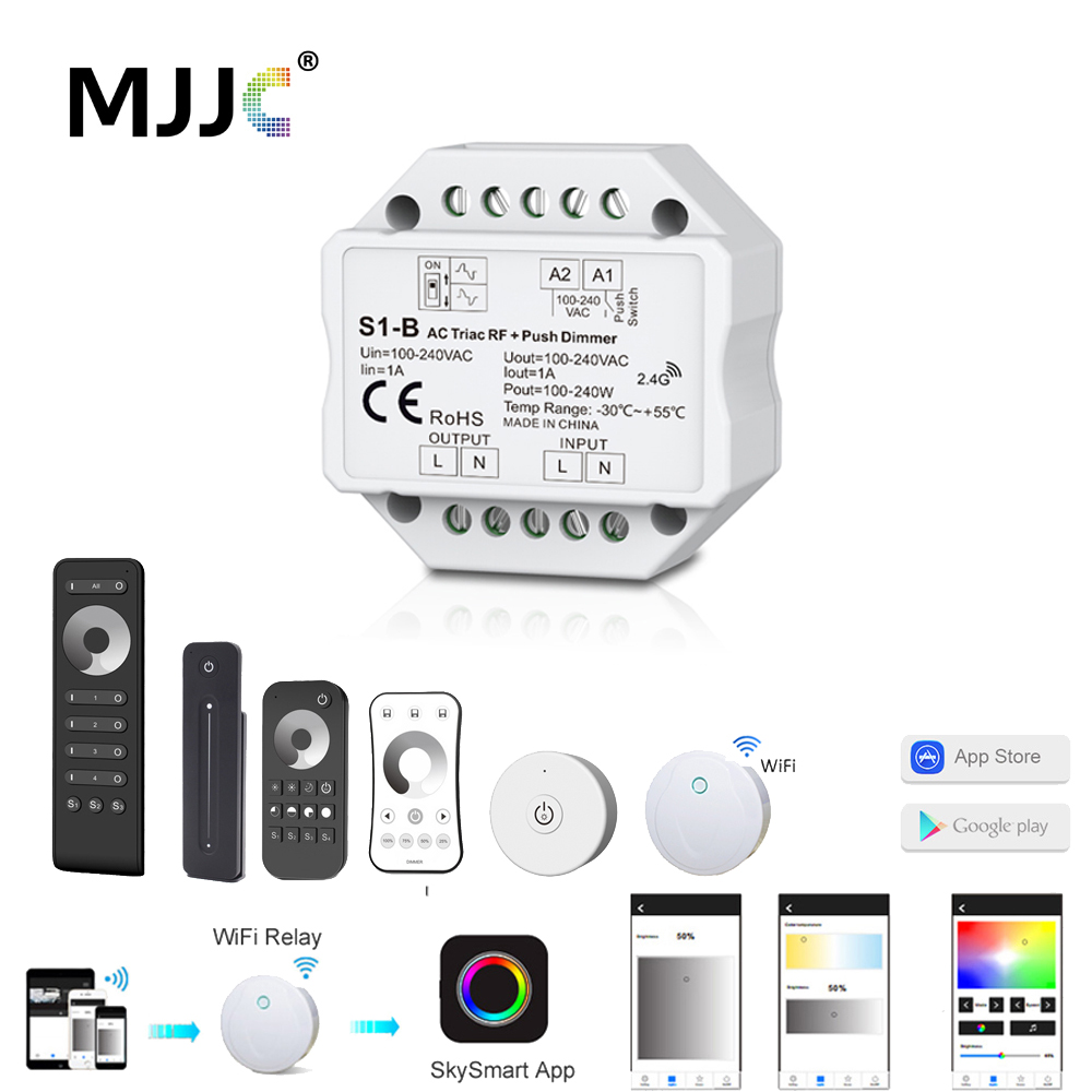 top 8 most popular wifi rf led dimmer list and get free shipping ...