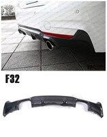 For BMW F32 F33 420 428 435 2014.2015.2016.2017 Carbon Fiber Rear Lip Spoiler Car Bumper Diffuser Auto Modification Accessories