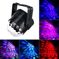 Colorful RGB Led Crystal Ball Effect Car Auto Light Disco DJ Party Stage Lighting Digital USB DC 12V