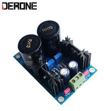 Dual Reguled Linear Power Supply Board LM317/LM337 + TL431 +/  5V to 37V 1.5A  free shipping