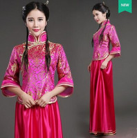 china guzheng costumes Republic of China clothing for women chorus suit ancient chinese costume new year costume