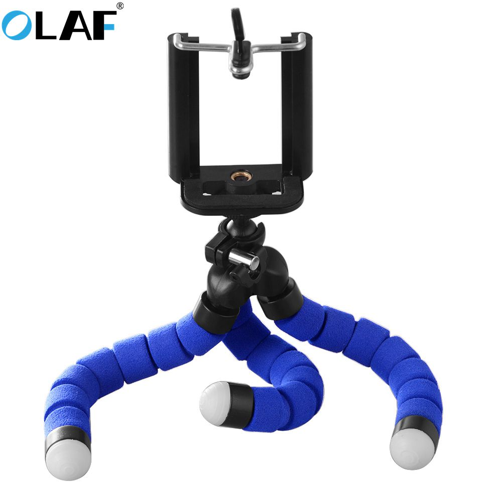 Phone Holder Flexible Octopus Bracket Tripod Selfie Expanding Stand Mount Styling Accessories For Huawei Mate 20 Redmi Note 7