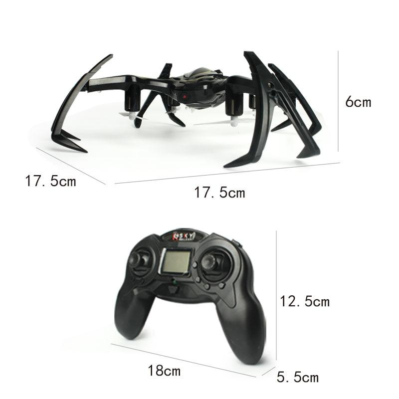 2.4G 6-Axis Gyro RC Drone con cámara Spider Quadrocopter Drones RC - Juguetes con control remoto - foto 5