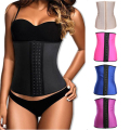 New Body Shaper Underbust Steel Bone Waist Shaper Corset Waist Trainer Women Waist Cincher Slimming Belt Rubber Shapewear 2016