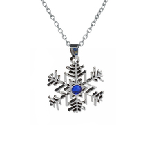 Bsarai Vocaloid Snow Miku Musical Note G Clef Guitar Snowflake Pendants Zinc Alloy Necklace