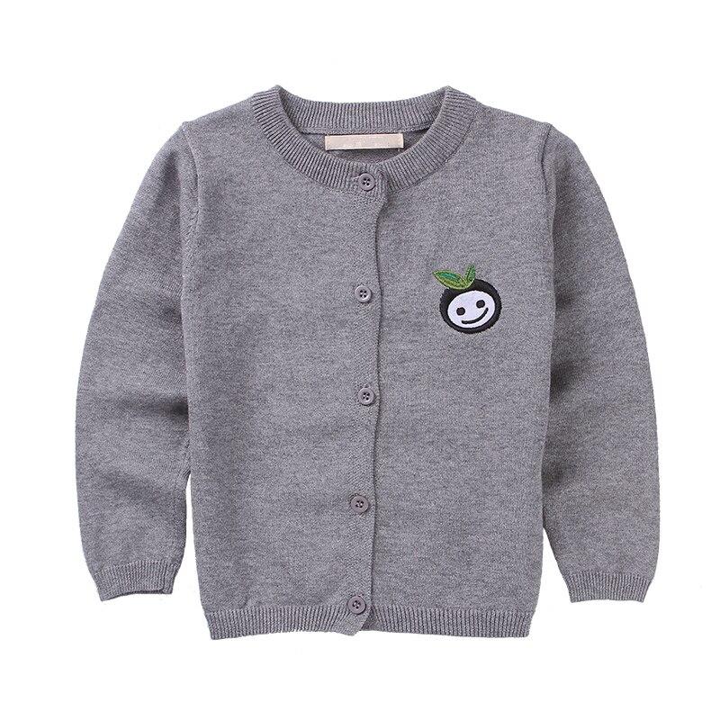 Милый мультфильм кардиган для детей Одежда Свитера для девочек пиджаки Многоцветный Детс ...