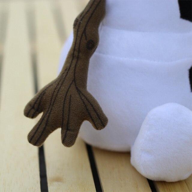 Плюшевая игрушка Олаф мультфильм Холодное Сердце 30 см 4