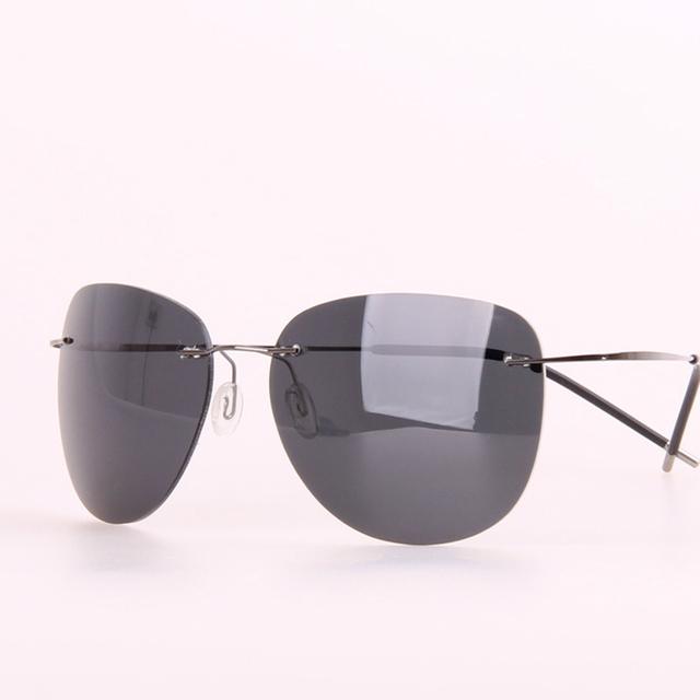 Alta Qualidade Da Lente Polaroid Tr90 Polarized Óculos Homem Marca Designer Óculos Polarizadores Para A Condução de Óculos De Sol de Ouro Dos Homens Polar