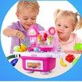 Nova Chegada Crianças brincar de casinha brinquedos meninas brincar de casinha brinquedos de cozinha utensílios de cozinha conjunto de talheres bebê Para Kid melhor Presente