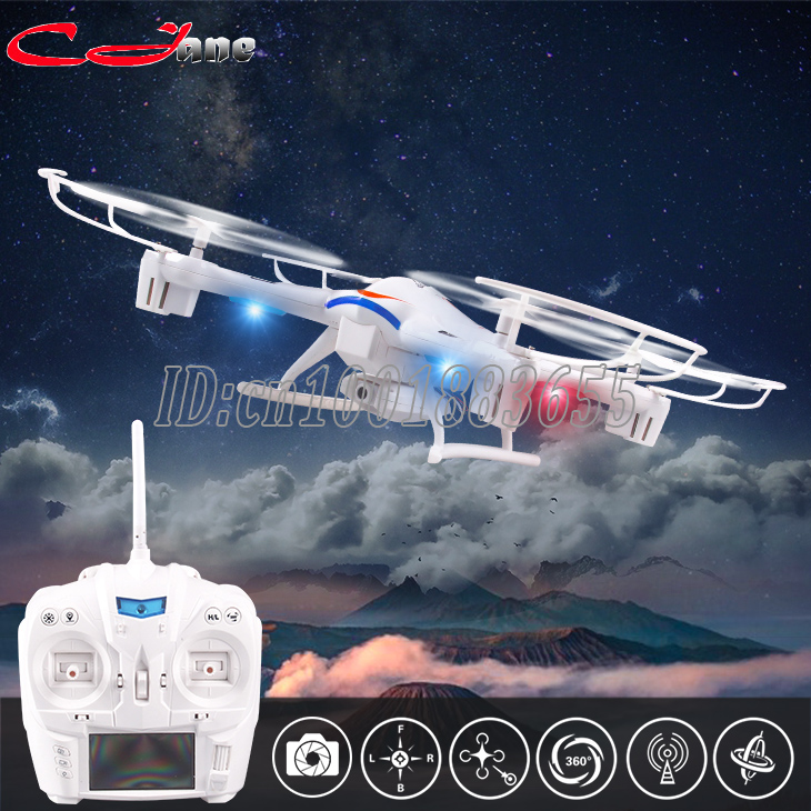 Free shipping K60 RC Quadcopter 2.4GHz 4CH 6-Axis Helicopter 3D Flip One Key Return Drone with Camera HD Cool LED Light original jjrc h28 4ch 6 axis gyro removable arms rtf rc quadcopter with one key return headless mode drone