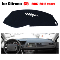 Car dashboard covers mat for Citroen C5 2007-2015 Left hand drive dashmat pad dash covers Instrument platform accessories
