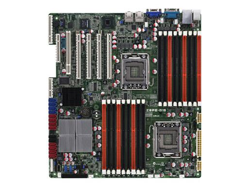 ASUS Z8PE-D18 Dual 1366 Workstation X58 Server Mainboard Support X5650 <font><b>X5670</b></font> used 90%new image