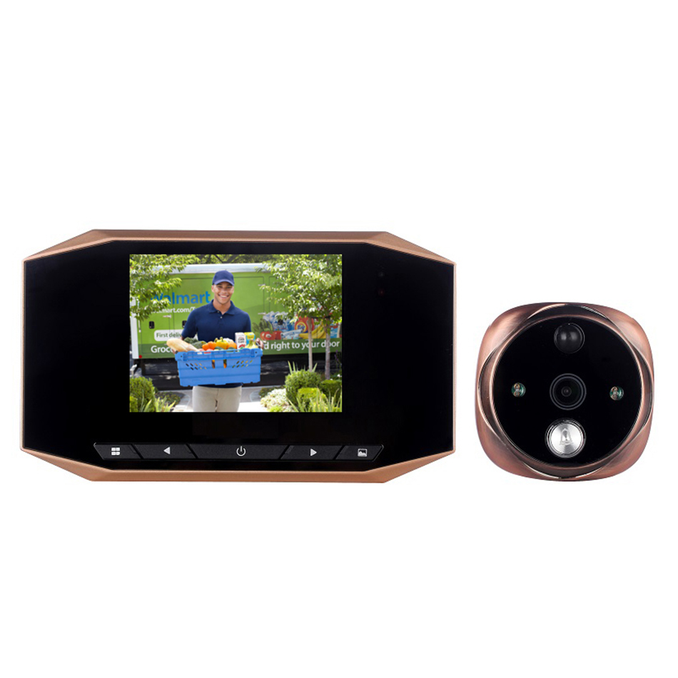 CCTHOOK 4.3 inch Digital Peephole Viewer