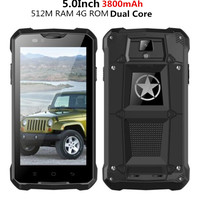 2016 Unlocked Original Z5 Rugged Smartphone Mobile Cell Phone MTK6572 Dual Core 3G GPS Android 4