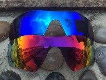 2 pares Purple red   Ice Blue polarizado Objetivos para el radar Gafas de  sol lente solamente 794af63e2d