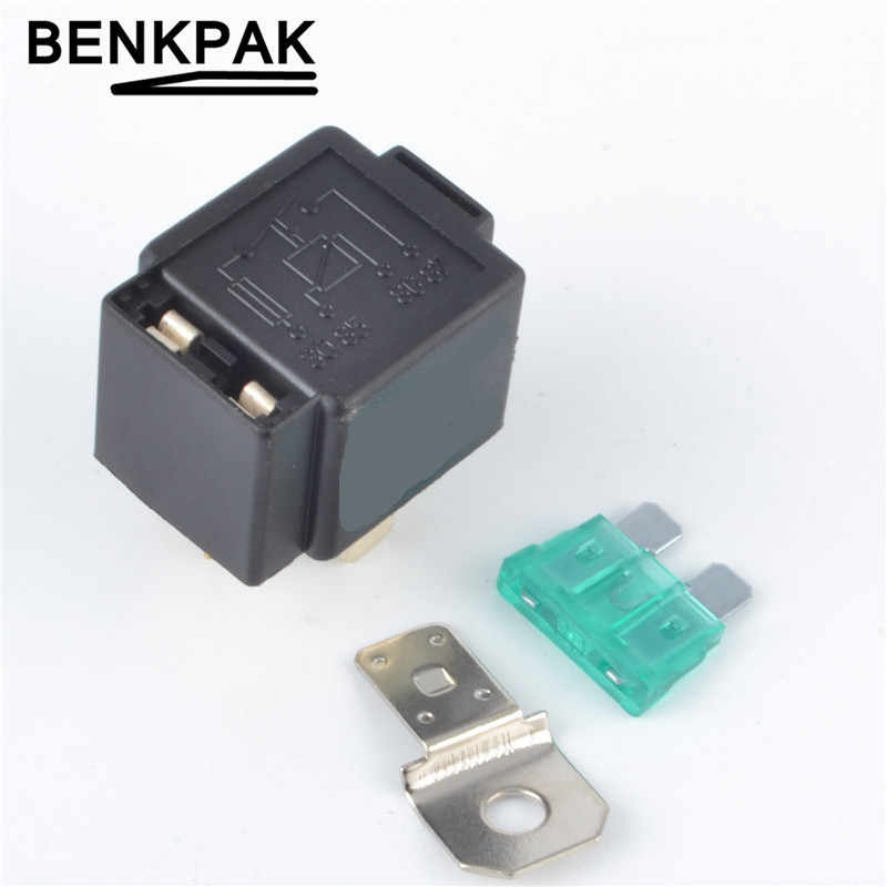 Relays Top Grade Quality 4 Pin 30a Auto Relay With Fuse