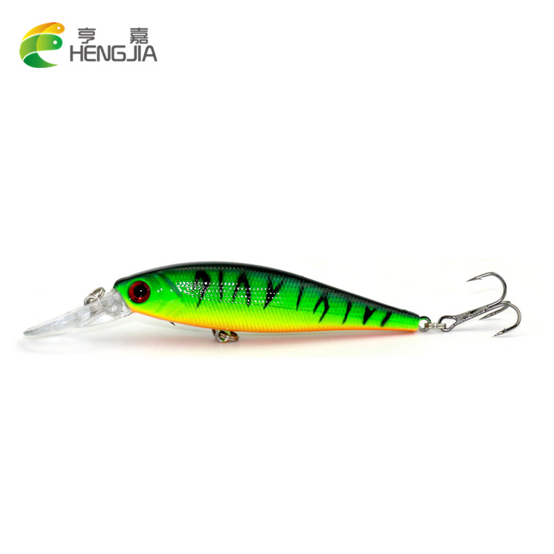 HENGJIA 1pc 10CM 9.5G Minnow Fishing Lure pesca fishing Wobblers isca artificial Hard Bait Fishing Tackle Bass Trout Bait hengjia 1pc 11 5cm 11 2g pencil fishing lure hard isca artificial minnow crank bait fake bait fishing hook carp fishing wobblers