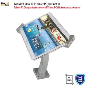 Image 5 - Montaggio a Parete Universale Tablet Pc Anti Furto Supporto Dellesposizione di Sicurezza Tablet Del Basamento per 7 10 Pollici Ipad Samsung asus Acer Huawe