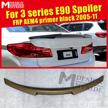 все цены на For BMW E90 M4 Style FRP Unpainted Trunk Spoiler Wing 3 Series Sedan 318i 320i 323i 325i 328i 335i Add on Look Rear Wings 05-11