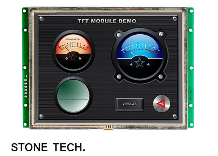 LCD TFT Monitor/Display RS232 With LCD Touch Panel With CPU