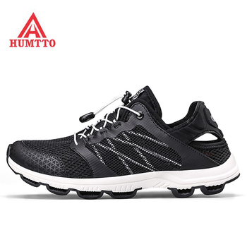 HUMTTO Men's Outdoor Trekking Hiking Sandals Shoes Sneakers For Men Sport Fishing Water Aqua Beach Shoes Sneakers Man Footwear