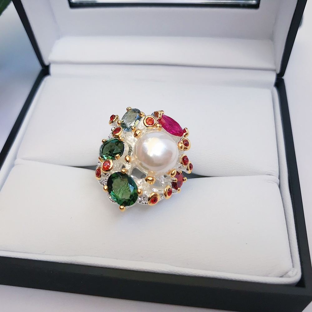 Image 5 - DreamCarnival 1989 Infinity Colors Series Women Rings Silver Gold Color Coated Gorgeous Shiny Zircon Jewelry of the Day WA11693-in Rings from Jewelry & Accessories