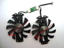 Бесплатная доставка 2 шт./партия GA81S2U 12 В 0.38A 75 мм 4Pin Apistek кулер вентилятор для ZOTAC GTX960 4G PCI-EDC видеокарта вентилятор