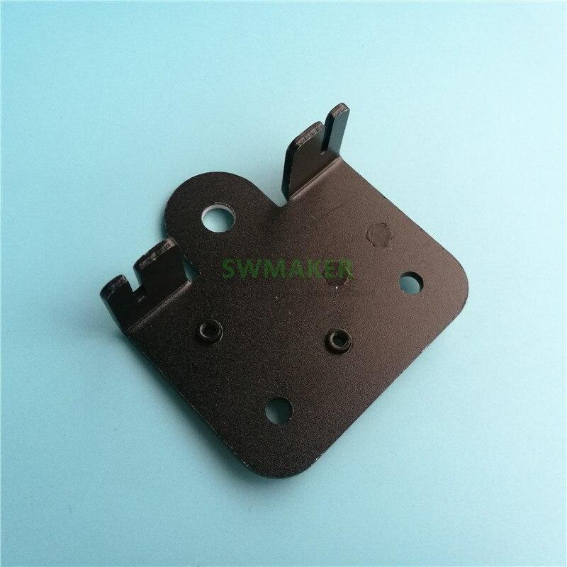 1 pces CR-10 de alumínio x placa de transporte para x-axis creality CR-10, CR-10S, CR-10-S/ENDER-3, ENDER-3s ou tevo impressora 3d