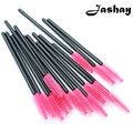 Jashay  100pcs/lot make up brush Pink synthetic fiber One-Off Disposable Eyelash Brush Mascara Applicator Wand Brush best deal