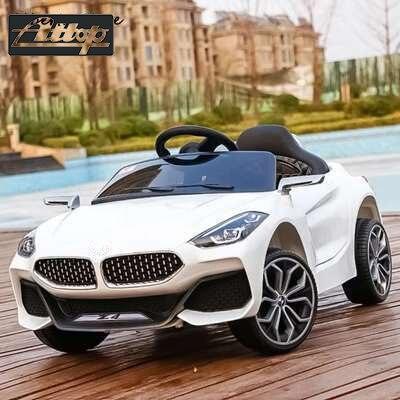 Z4 enfants voiture électrique quatre roues télécommande voiture 1-8 ans charge bébé poussette bébé jouet voiture tour sur les jouets de plein air